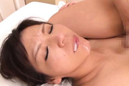 Chihiro uehara. Chihiro Uehara Asian with randy boobies has pussy fuck by fellow