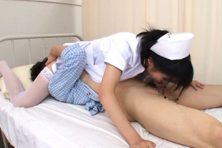 Towa ichikawa. Towa Ichikawa Asian has pussy licked while sucks patient penis